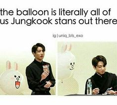 Dat balloon must be an army