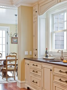 Traditional Kitchen Design Simple, Understated, Tall And Elegant.