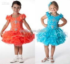Girls Dresses New Cupcake Style Kids Pageant Dresses Rhinestone Multilayer Princess Girl's Pageant Dresses Little Girl Prom Dresses Organza Summer Dresses For Girls From Dress_beautiful, $79.32| Dhgate.Com