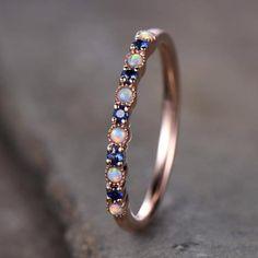 Opal Wedding Rings, Sapphire Wedding, Vintage Engagement Rings, Opal Rings, Diamond Wedding Bands, Solitaire Engagement, Rose Gold Bands, Wedding Engagement, Colar Disney