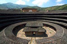 Architecture wonder in Fujian, China