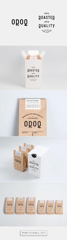 Branding / Ideas / Inspiration / Brand Design / Vintage Logo / Craft Paper / Food / Packaging / Coffee / Roasted / Minimal / Minimalist / Modern / Hipster / Black and White / Logo Design