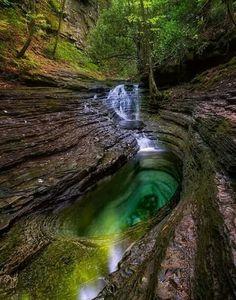 Devil's bathtub. Southwest Virginia