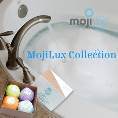 MojiLife Bathbombs MojiLux Collection...Recharge, Delight, Relax & Exhilarate.