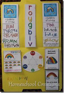 Rainbow lapbook