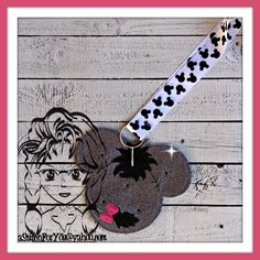 Donkey Friend to Hunny Bear ~ Pin Lanyard Display Mouse HeaD Trader ~ ITH Mr Miss Mouse Inspired Photo Prop ~ INSTANT Download Design by Carrie aStitchForYou on FB & Etsy