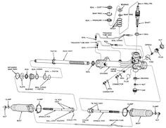 bill (lostn60s) on pinterest ford power steering diagram tie rod ends drag link picture on 2001 ford f 250 tie rod diagram