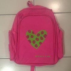 #Agatha Ruiz de la Prada pink #backpack #AgathaRuizDeLaPrada