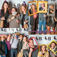 Fall Wine Stroll photo booth at Blackbird Gallery in #Ravenswood.