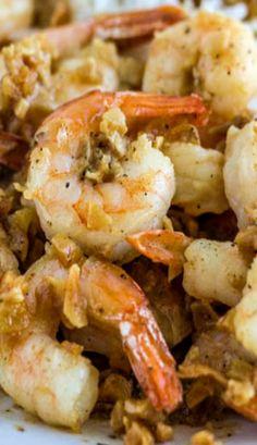 Hawaiian-Style Garlic Shrimp | #glutenfree #grainfree #paleo