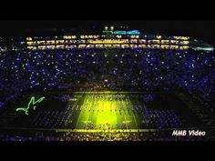 The Michigan Marching Band Performing Beyonce's Music Sept 7, 2013. The only time I've ever wanted to join marching band!!!