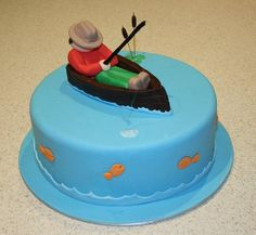 gone fishing cake by Amanda's Cakes and Invitations, via Flickr