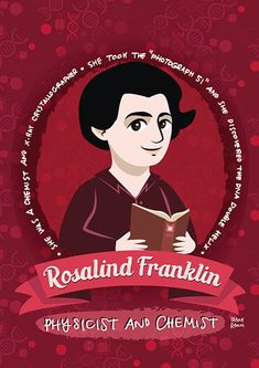 Rosalind Franklin women in science poster | Etsy Science Gifts, Science Art, Science Puns, Dna Facts, Katherine Johnson, Science Photos, Physicist, Women In History, Family Gifts