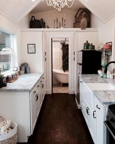 Pin for Later: 31 Lavish Reasons Why We Want to Move into a Tiny Home Wood Flooring Luxury tiny homes spare no expense, including gorgeous hardwood floors.