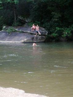 River fun!