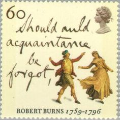 Robert Burns stamp raise a cup o kindness yet for auld land syne Uk Stamps, Postage Stamps, Postage Stamp Design, Auld Lang Syne, Robert Burns, Penny Black, Mail Art, Kingdom Of Great Britain, Royal Mail