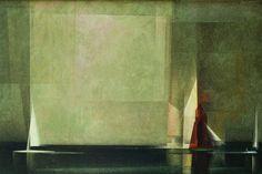 Lyonel Feininger, Stiller Tag am Meer I (1926 Öl auf Leinwand)