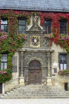 Rathaus (Town Hall) of Quedlinburg, Saxony-Anhalt, Germany