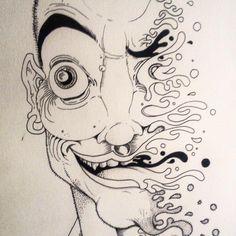 Psicodelia! #art #expression #beautiful #psychedelic #eyes #trip #high #lad #dmt #ink #gamer #smoke #hemp #melt #derretendo #drugs #space #requiemforadream #brisa #cannabis #cannabiscommunity #weedstagram #junkie #europe #rastichong #characterdesign #character #sketch #sketchbook #draw