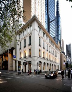 Chanel Melbourne designed by Trethowan Architecture. Photography by Peter Hyatt and Steve Young.