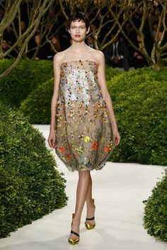 Christian Dior Couture | Spring 2013  kind of has the shape of my project!!