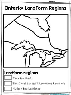 Living and Working in Ontario Unit! Social Studies Worksheets, Worksheets For Kids, Grade 2, Third Grade, Social Studies Communities, Grade 3 Science, Ontario Curriculum, Map Activities, Virtual Class