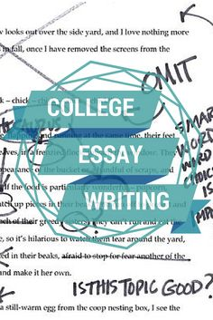 College essay and application tips?