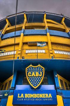 La Bombonera Boca Juniors Stadium in La Boca Buenos Aires, Argentina #futbolbocajuniors