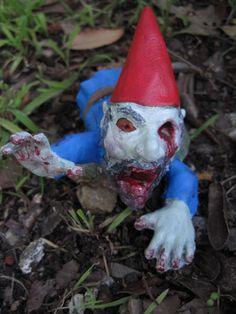 Zombie Gnomes Legless Larry by ChrisandJanesPlace on Etsy, $21.00