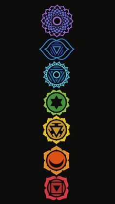 This is our foundation of existence. Actually, we are the vibration of chakras. Mindfulness for balancing chakras! Arte Chakra, Buda Wallpaper, Equality Tattoos, Hamsa Art, Chakra Tattoo, Arte Peculiar, Les Chakras, Chakra Symbols, 3d Laser