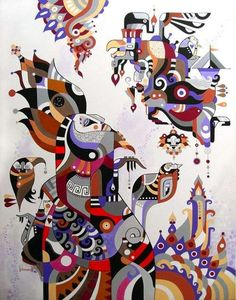 Fernando Chamarelli - Brazilian Abstract Cartoons