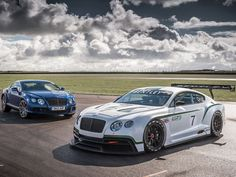 Bentley Continental GT3 Racer  Bentley returns to racing for the first time since its Le Mans victory in 2003 with this 'super cool' FIA GT3 racer. looking forward to seeing Bentley competing with the likes of McLaren, Mercedes AMG, BMW, Ferrari, Nissan, Lamborghini, Aston Martin and Audi in the competitive GT3 field. (Photo: Bentley)