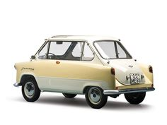 Microcar Zuendapp Janus 1958. / TechNews24h.com