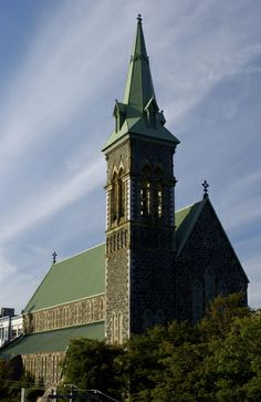 St. Patrick's Church. Attached is St. Patrick's all girls convent school.   ST. JOHN'S NEWFOUNDLAND Newfoundland Canada, Newfoundland And Labrador, Atlantic Canada, Prince Edward Island, New Brunswick, The Province, St John's, Roman Catholic, Nova Scotia