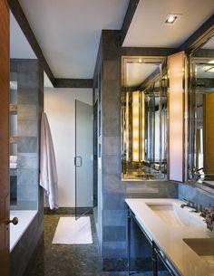 Park Avenue duplex renovation #interiordesign #art #bathroom