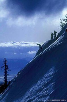 Skiing Buddies, Missoula MT