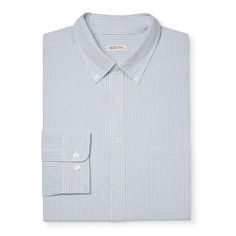 Men's Big & Tall Long Sleeve Button Down Shirt - Merona