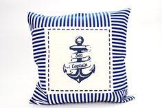 Kissenbezug Raik 40x40cm Kissenhülle maritim Anker Sea Captain Sommer blau weiß gestreift Leinen Leinenoptik Dekokissen Deichflausen http://www.amazon.de/dp/B010MG8KRG/ref=cm_sw_r_pi_dp_N3jfxb1ESS1GD