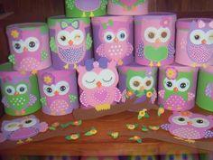 Latas decoradas con foami o goma eva - Dale Detalles