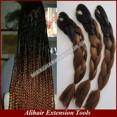 BlackBrown 20inch folded length, 100grams per apck ombre jumbo box Braiding hair, email: mike@harmonyhair.cn whatsapp: 008615303995729 If you need it, can place the order in Aliexpress