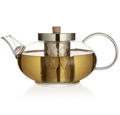 Zenshi Glass Teapot with Stainless Steel Infuser & Coil Filter Tea Gift Sets, Tea Gifts, Christmas Wishlist 2018, Glass Teapot, Tea Accessories, Tea Ceremony, Tea Time, Brewing, Stainless Steel