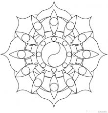 Taiji Mandala Design