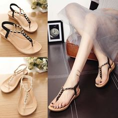 0a55e3e8b759 Stylish casual t-strap ankle sandals for the stylish fashionista Beautiful  design offers a cute stylish look Perfect for parties or social gatherings  Made ...