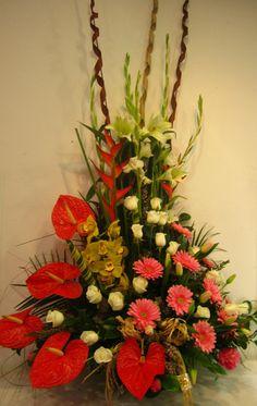 Centros D Flores. Centros De Mesa Para Bodas Con Flores Y ...