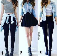 Outfits for teens, casual outfits, dress outfits, fashion outfits, womens. Teenage Girl Outfits, Teen Fashion Outfits, Teenager Outfits, Cute Fashion, Outfits For Teens, Fall Outfits, Emo Outfits, Summer Outfits, Cute Casual Outfits