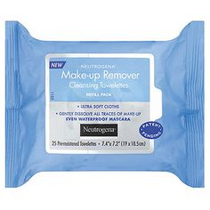 2014 - Skin - Face - Best Cleansing Wipes: Neutrogena Makeup Remover Cleansing Towelettes are tissue soft and perfectly moist - and leave no icky film.