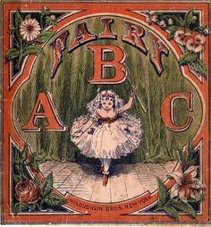 Vintage Fairytale & Nursery Rhyme Alphabet. #ABCs