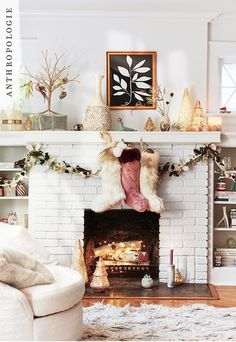 Anthropologie holiday decor and decorations