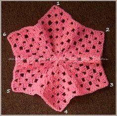 Chaqueta Crochet Tejida con Do