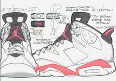 Air Jordan 6 Tinker Hatfield Coming In October Lps, Pink Yeezy, Sneakers Sketch, Sneakers Box, Michael Jordan Pictures, Nike Mag, Sneakers Wallpaper, Tinker Hatfield, Shoe Sketches